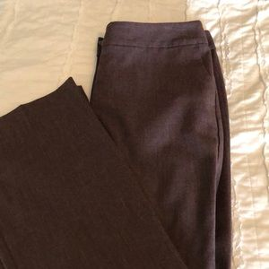 Burgundy Ann Taylor Factory Trousers